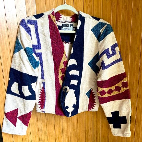 Silverado Aztec Print Jacket Vintage 🌿 A1